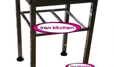 میز صنعتی استیل برای شیرینی پزی