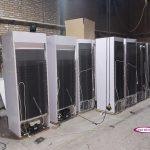 خط تولید یخچال های نوشیدنی 70 سانت در کارخانه