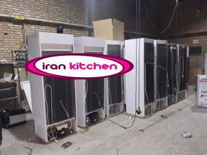 خط تولید یخچال های نوشیدنی ۷۰ سانت در کارخانه