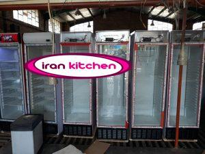خط تولید یخچال نوشیدنی ۶۰ سانتی در کارخانه