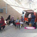 راه اندازی رستوران سیار توسط ایران کیچن