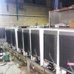 یخچال نوشیدنی 7 فوت در حال ساخت در کارخانه