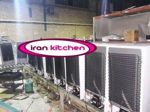 یخچال نوشیدنی ۷ فوت در حال ساخت در کارخانه