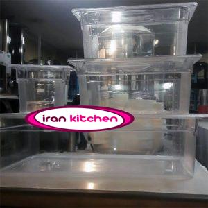 بن ماری پلی کربنات پلاستیکی بی رنگ یا مشکی و سفید