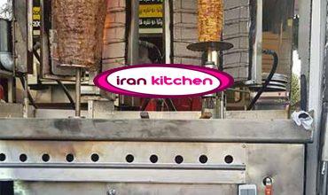 دستگاه کباب پز ترکی 2 سیخ ایستاده مغازه