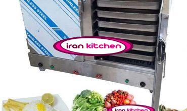 دستگاه بخار پز برقی برای دم کشیدن برنج و بخار پز سبزیجات و گوشت