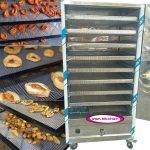 دستگاه خشک کن میوه صنعتی با 8 سینی استیل