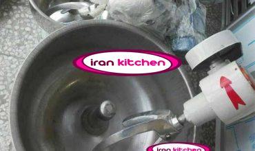 دستگاه همزن خمیر استیل ۴۰ کیلوگرمی