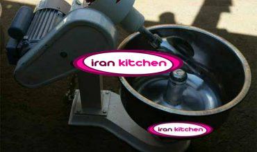 دستگاه همزن خمیر استیل 40 کیلوگرمی