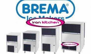 دستگاه رستورانی یخ ساز برما ایتالیایی صد و پنجاه کیلویی