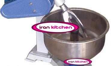 دستگاه 8 کیلو گرمی خمیر گیر با دیگ و پارو استیل