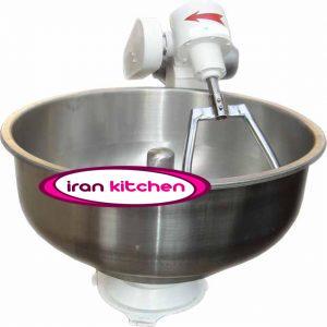 دستگاه خمیر ساز استیل شصت کیلویی