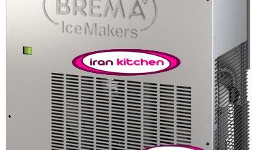 دستگاه یخ ساز پودری برما ایتالیا مخزن سی کیلوگرم
