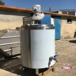 پاتیل پخت شیر گاوداری و لبنیاتی