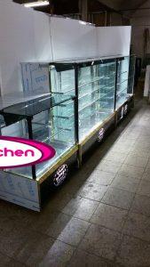 ست یخچال قنادی مکعبی