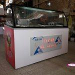 تاپینگ بستنی کوچک ارزان 12 کاسه