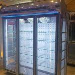یخچال ایستاده مغازه 3 درب سیستم نوفراست