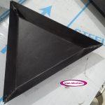 قالب پیتزا مثلث سایز 26 تفلون درجه یک با پهنای لبه 4 سانتی متر