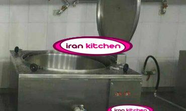 دیگ پخت برنج اتوماتیک دارای نما مکعب با ظرفیت ۳۰۰ لیتر