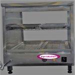 گرمکن شیشه ای فست فودی دیسپلی مرغ سوخاری رومیزی با کیفیت بالا