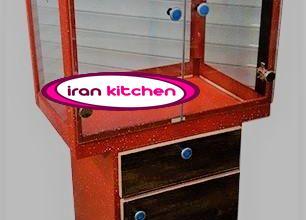 دستگاه پاپ کورن ساز ایرانی دارای کابین و گازی