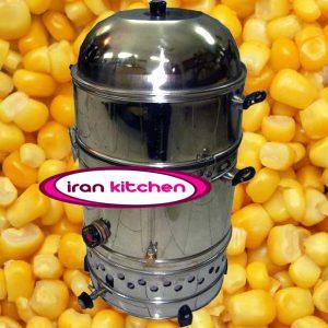 دیگ بخار پز ذرت مکزیکی دارای بدنه استیل و با قطر ۳۰ سانتی متر و با کیفیت عالی