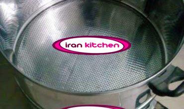 دیگ بخار پز ذرت مکزیکی دارای بدنه استیل و با قطر 30 سانتی متر و با کیفیت عالی