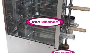 دستگاه خانگی جوجه گردان دارای دو سیخ و با کیفیت بالا