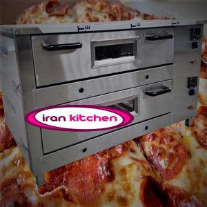 فر اتوماتیک تنوری پیتزا به صورت صندوقی و دو طبقه با کیفیت بالا