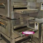 فر دو طبقه پیتزا فست فودی قابلیت 150 پیتزا با کیفیت بسیار بالا