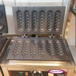 دستگاه وافل سوسیس ۶ تایی