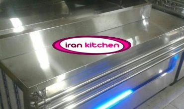 تاپینگ سرد سلف سرویس با فر ترکیبی ساندویچی
