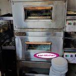 فر پیتزا ریلی با ظرفیت 100 تا برای فست فودی با کیفیت بالا