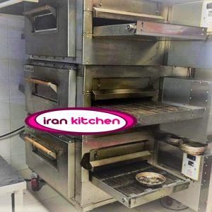 فر ریلی پیتزا  دارای سه طبقه فست فودی با کیفیت بسیار بالا