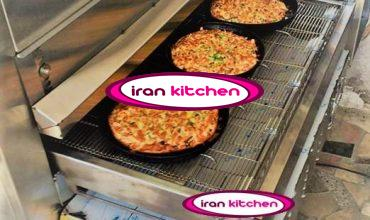 فر پیتزا ریلی سه بشقابه با کیفیت بسیار بالا