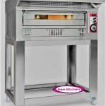 فر پیتزا پز صندوقی یک طبقه بدون پایه زانولی با کیفیت بالا