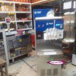 دستگاه بستنی قیفی نیکنام مدل جدید tm1600