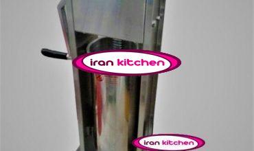 دستگاه دستی کباب لوله ای به صورت کباب لقمه با کیفیت بالا