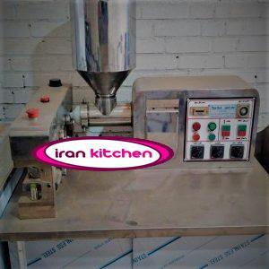 دستگاه تولید کباب لقمه به صورت تمام اتوماتیک و هیدرولیکی با کیفیت بسیار بالا