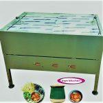فر دیزی سنگی ۹۶ تایی با سه شیر و سه صفحه چدن با کیفیت بسیار بالا
