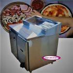 تاپینگ یک متری دارای یخچال فست فود پیتزایی با کیفیت بسیار بالا