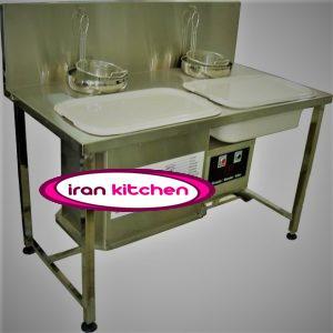 دستگاه بردینگ پودر زن مرغ سوخاری با کیفیت بسیار بالا