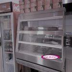 دستگاه گرمخانه دیسپلی مرغ سوخاری با کیفیت بسیار بالا