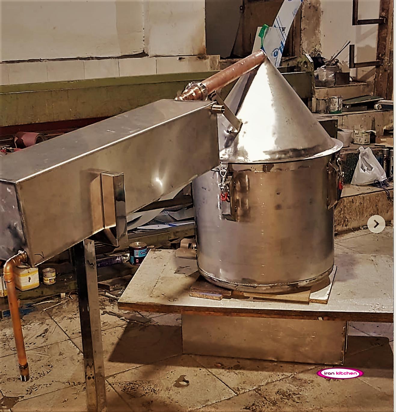 دستگاه آب هویج گیری صنعتی بزرگ